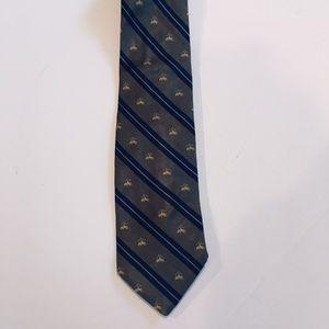 Golden Fleece Brooks Brothers Silk Tie